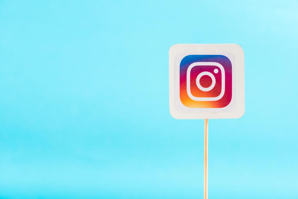 En bra storlek för Instagram profilbild